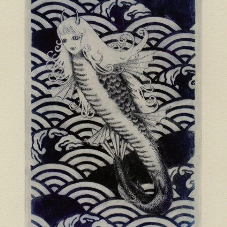 神社姫 postcard (front)