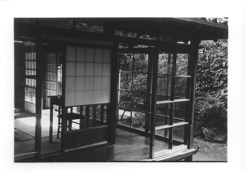 Lafcadio Hearn residence, Kumamoto City (view toward the writing desk)