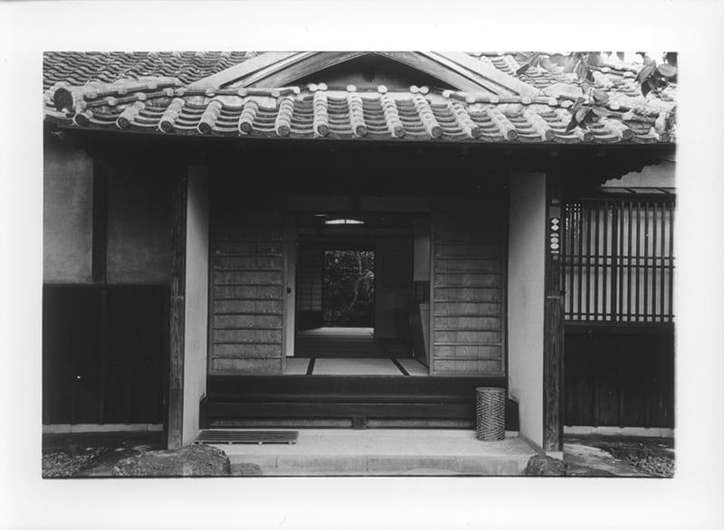 Lafcadio Hearn residence, Kumamoto City (entrance)