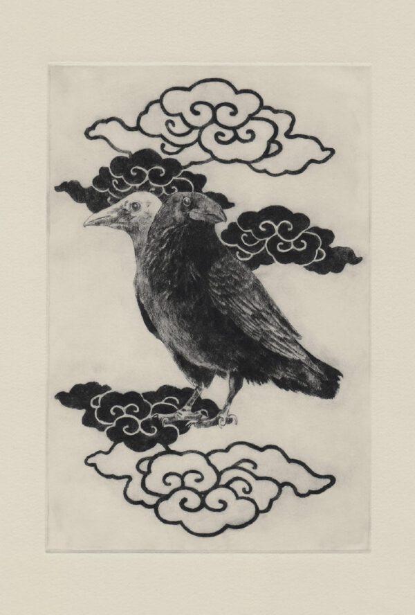 Yogen-no-tori postcard (front)