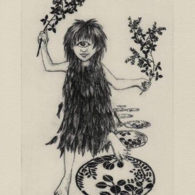 Yamawarawa postcard (front)
